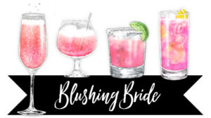 blushing bride cocktail