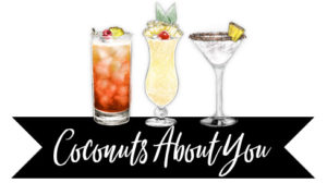 coconuts about you wedding drink